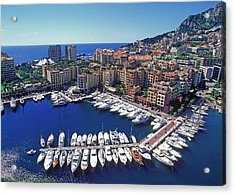 Monaco, La Condamine Acrylic Print by Hans-peter Merten