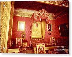 Monaco Palace Bedroom Acrylic Print