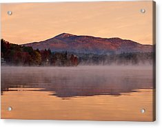 Monadnock Sunrise Acrylic Print by Gordon Ripley