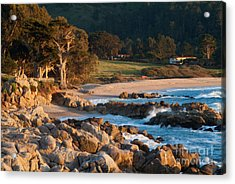 Monastery Beach In Carmel California Acrylic Print