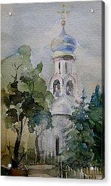 Monastery Acrylic Print by Khromykh Natalia