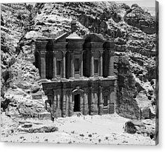 Monastery Of Petra Acrylic Print