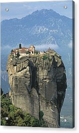 Monastery Of The Holy Trinity Hagia Acrylic Print by Everett