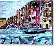 Monday In Venice Acrylic Print