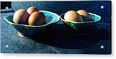 Monday Morning Blues Acrylic Print by Ann Powell