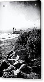 Mondos Shoreline Acrylic Print by Ron Regalado