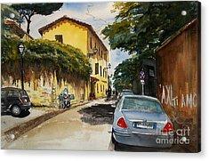 Monestero Foresteria Rome Acrylic Print