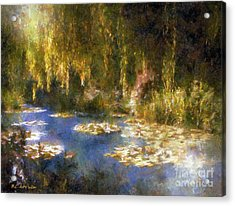 Monet After Midnight Acrylic Print