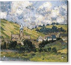 Monet, Claude 1840-1926. Landscape Acrylic Print by Everett