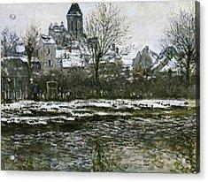 Monet, Claude 1840-1926. The Church Acrylic Print by Everett