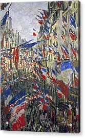 Monet: Montorgeuil, 1878 Acrylic Print by Granger
