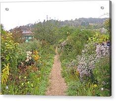 Monet's Garden 5 Acrylic Print