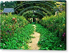 Monet's Gardens At Giverny Acrylic Print by Jeff Black