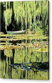 Monet's Pond Acrylic Print
