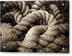 Acrylic Print featuring the photograph Money For Old Rope by Stewart Scott