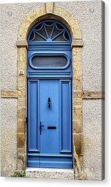 Monflanquin Door Acrylic Print