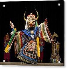 Mongolian Yak Dancer  Acrylic Print