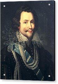 Monier, Jean  1600-1656. Portrait Acrylic Print