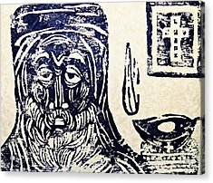 Monk 5 Acrylic Print