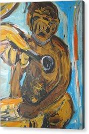 Monkey Doctor Acrylic Print by Patrick Humphreys
