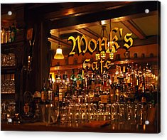 Monks Cafe Acrylic Print
