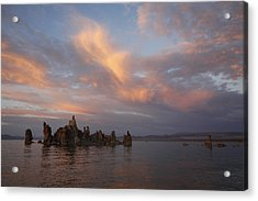 Mono Lake At Sunset Acrylic Print