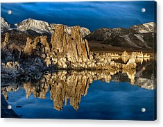 Mono Lake In March Acrylic Print