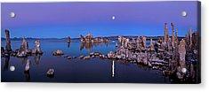 Mono Lake Moon Rise Acrylic Print