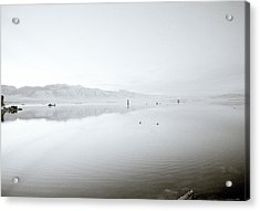 Mono Lake Serenity Acrylic Print by Shaun Higson