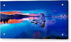 Mono Lake Sunset Acrylic Print