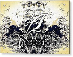 Monogram A - 0 - 11 Acrylic Print