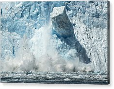 Monolith Acrylic Print by Ted Raynor