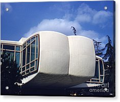 Monsanto House Of The Future At Disneyland 1961 Acrylic Print by The Harrington Collection