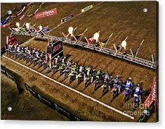 Monster Energy Ama Supercross  450sx Main Acrylic Print