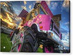 Monster Ice Cream Truck Acrylic Print