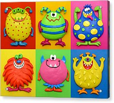 Monsters Acrylic Print