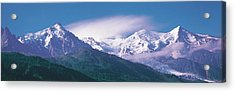 Mont Blanc France Acrylic Print by Panoramic Images