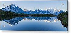 Mont Blanc Massif Panorama Acrylic Print