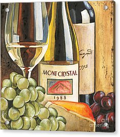 Mont Crystal 1988 Acrylic Print by Debbie DeWitt