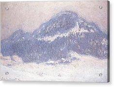 Mont Kolsaas Acrylic Print