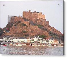 Mont Orgueil Gorey Castle Acrylic Print