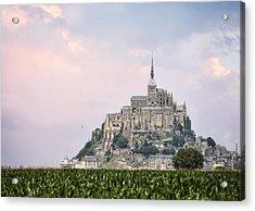 Mont Saint-michel Castle Acrylic Print