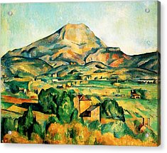 Mont Sainte-victoire Seen From Bellevue Acrylic Print