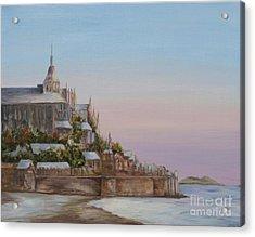 Mont St. Michel Acrylic Print
