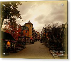 Acrylic Print featuring the photograph Mont Tremblant by Elfriede Fulda