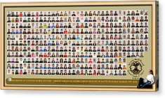 Montage No Background Acrylic Print by PhotoChasers
