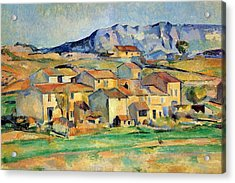 Montaigne Sainte-victoire Seen From The Vicinity Of Gardanne Acrylic Print