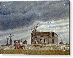 Montana Abandoned Homestead Acrylic Print