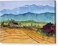 Montana Dreams Acrylic Print by Carolyn Doe