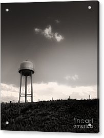 Montana - Lonely Sky Acrylic Print by Gregory Dyer